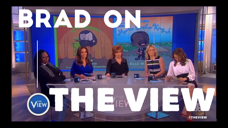 Brad on the View Cover