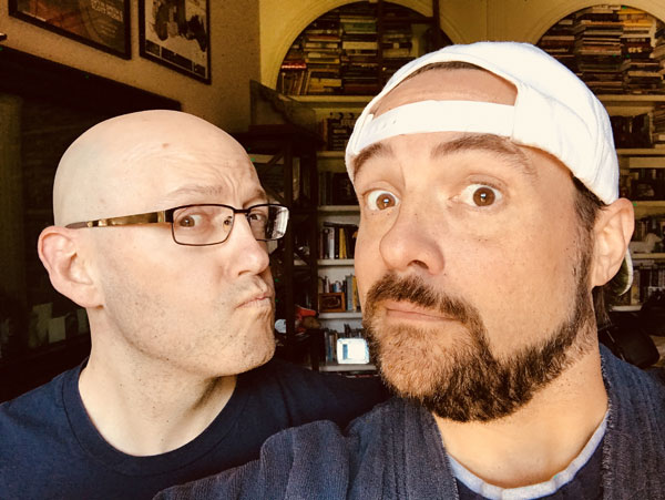 Brad Returns to Kevin Smith's House