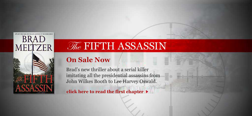 Brad-Meltzer-The-Fifth-Assassin-On-Sale