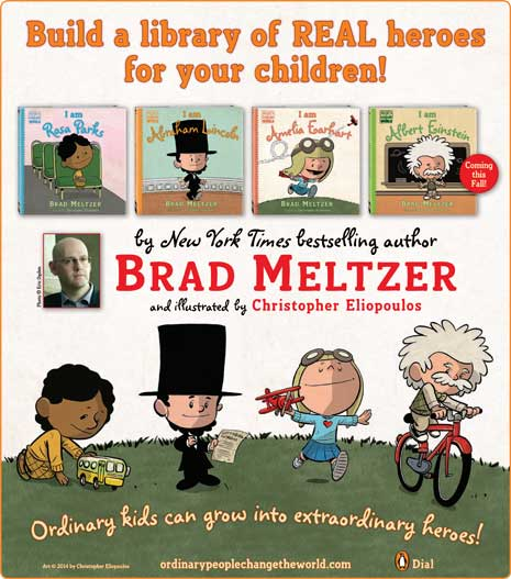 Children's Books by Brad Meltzer