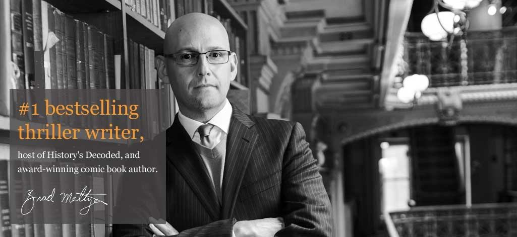 Brad Meltzer #1 Thriller Writer